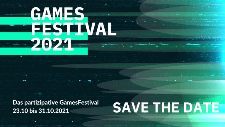 Save the Date: GamesFestival der Computerspielakademie