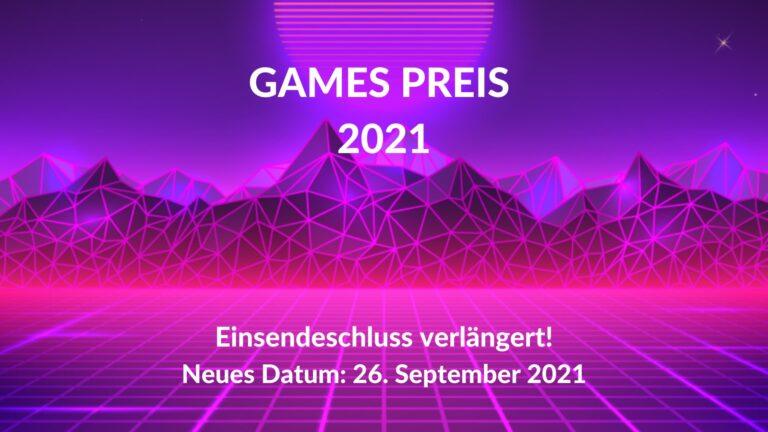 Einreichfrist: GamesPreis der ComputerSpielAkademie