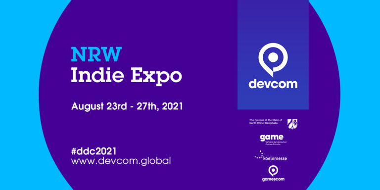 Deadline: Show your game at the devcom NRW Indie Expo 2021!