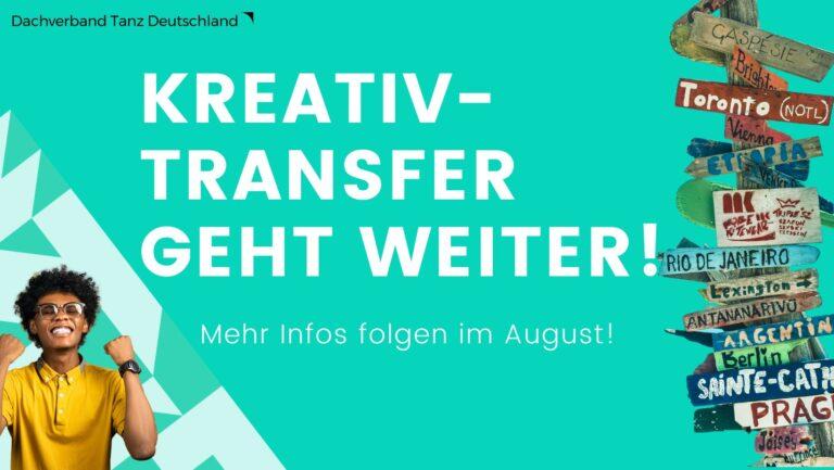 Online Kick-off für Kreativ-Transfer II