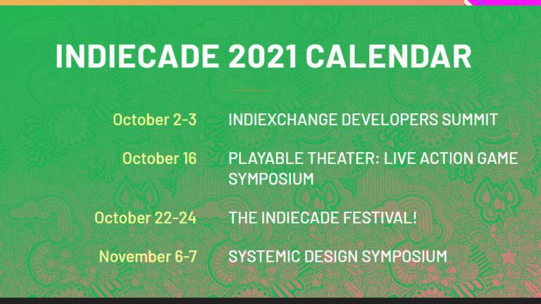 IndieCade Festival 2021